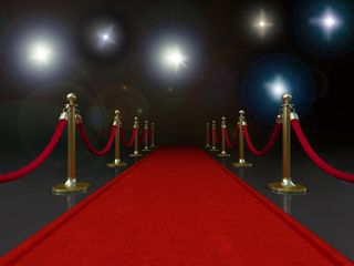 Prom red carpet