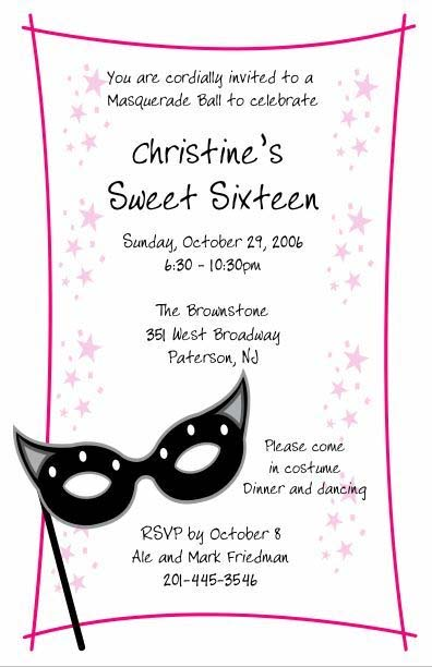Red carpet prom or sweet 16 perfect prom resource favors invitations giveaways sweet 16 invitation stopboris Gallery